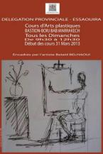 Cours d arts plastiques avec Belad Belhaoui